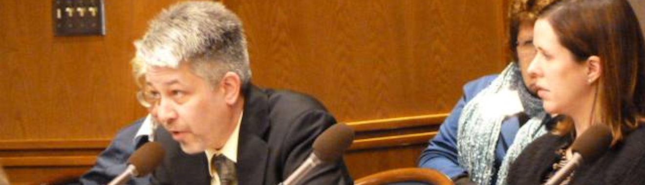 Dan McGrath testifies agaisnt Early Voting